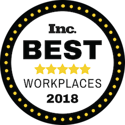 Inc Best Workkplaces 2018